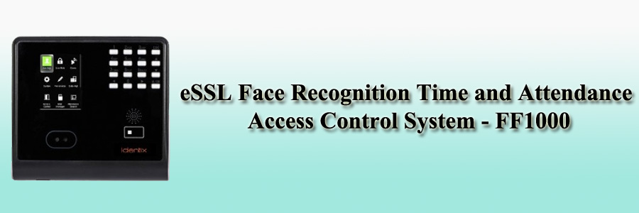 eSSL Face Recognition Time and Attendance Access Control System - FF1000