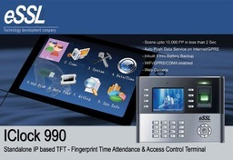eSSL Iclock 990 Time and Attendance with access control