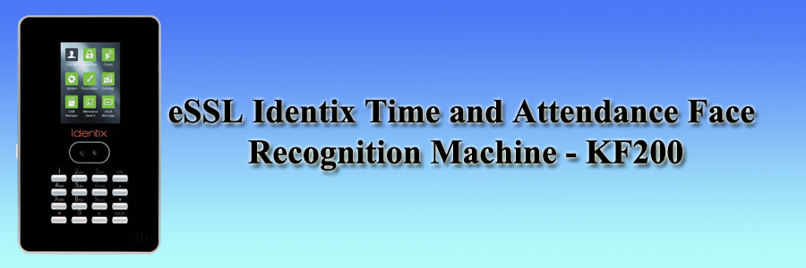 eSSL Identix Time and Attendance Face Recognition Machine - KF200