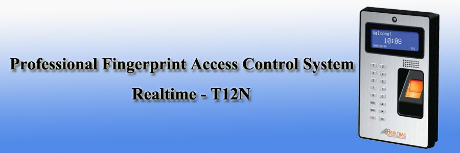 Realtime Professional Fingerprint Access Control System - T12N