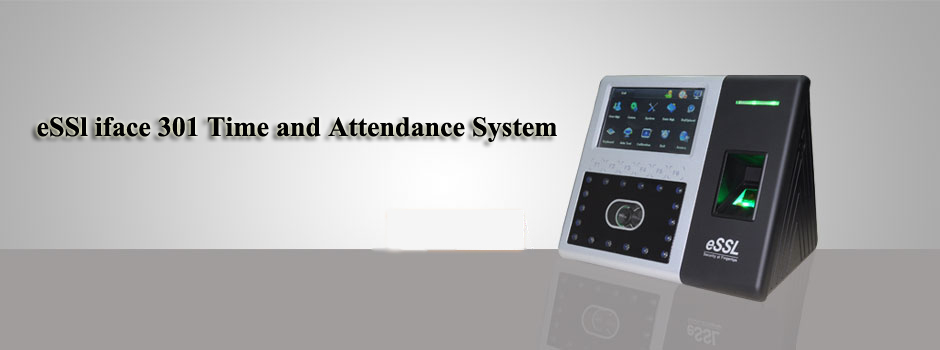 eSSl iface 301 Time and Attendance System