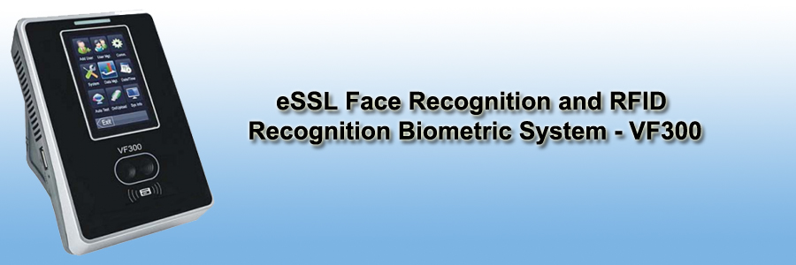eSSL Face Recognition and RFID Recognition Biometric System - VF300