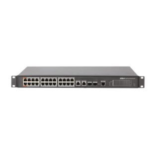Dahua 24-Port PoE Switch - PFS4226-24ET-360
