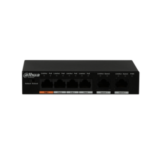 Dahua 4-Port Fast Ethernet PoE Switch - PFS3006-4ET-60
