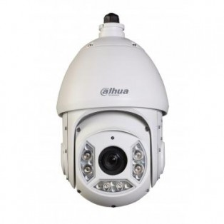 Dahua 1 Megapixel High Defination Optical Zoom Night Vision PTZ CCTV Camera - SD6C120I-HC