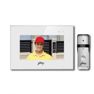 "Godrej 7"" Inch WiFi Video Door Phone - SEE THRU PRO"
