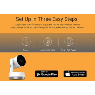 Godrej Eve Nx PT 2MP - Smart Home Security Camera