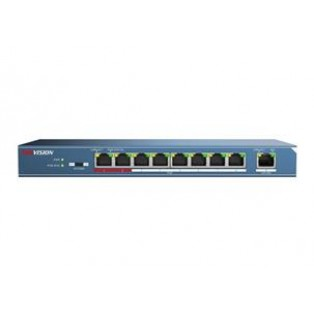 Hikvision 8-Port 100 Mbps Unmanaged PoE Switch - DS-3E0109P-E