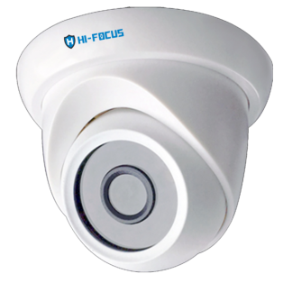 Hi-focus 2.4MP HDCVI Dome CCTV Camera - HC-D2240N2