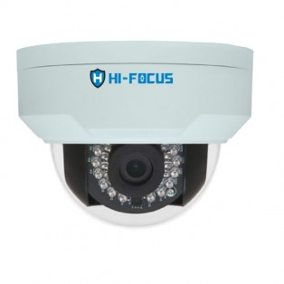Hi-focus 4 Megapixel IP Dome CCTV Camera - HC-IPC-D4214DV