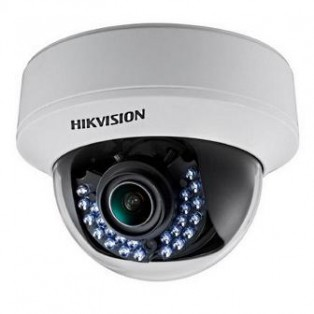 Hikvision DS-2CE56C5T-(A)VFIR HD 1.3MP Night Vision Analog Dome CCTV Camera