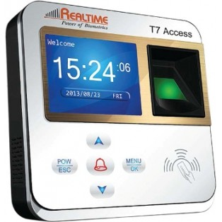 Realtime Fingerprint Access Control and Time Attendance System - T7