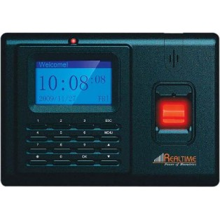 Realtime Fingerprint Time and Attendance Biometric Access Control System - T6