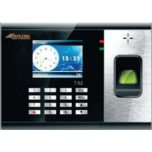 Realtime Time and Attendance Biometric Fingerprint Access Control System - T52