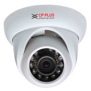 CP PLUS High defination 1 Megapixel Night Vision Dome CCTV Camera with 3.6mm lens - CP-UNC-D1011L2