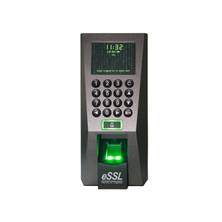 eSSL Biometric Fingerprint Time and Attendance Access Control System - F18