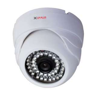 CP Plus 1 Megapixel High Definition Night Vision Dome CCTV Camera with Image Sensor - CP-VCG-D10L3