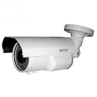 CP Plus 1 Megapixel Night vision Bullet High Defination CCTV Camera - CP-VC-T10FL6