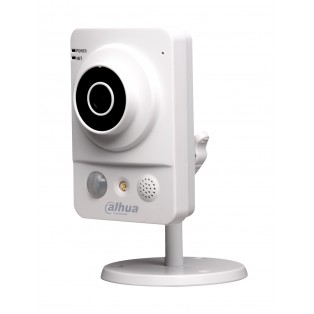 Dahua 1 Megapixel HD Network Monitoring Night Vision Cube CCTV Camera - IPC-KW12WP
