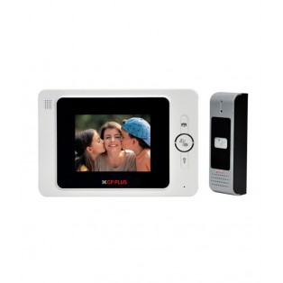 CP PLUS 4 Inch Video Door Phone - CP-JAV-K40